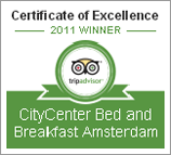 CityCenter B&B Amsterdam Award 2011