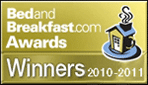 bed and breakfast.com award