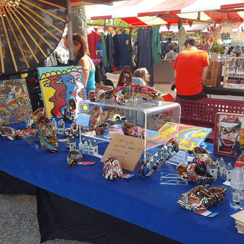 Amsterdam Museum market stand