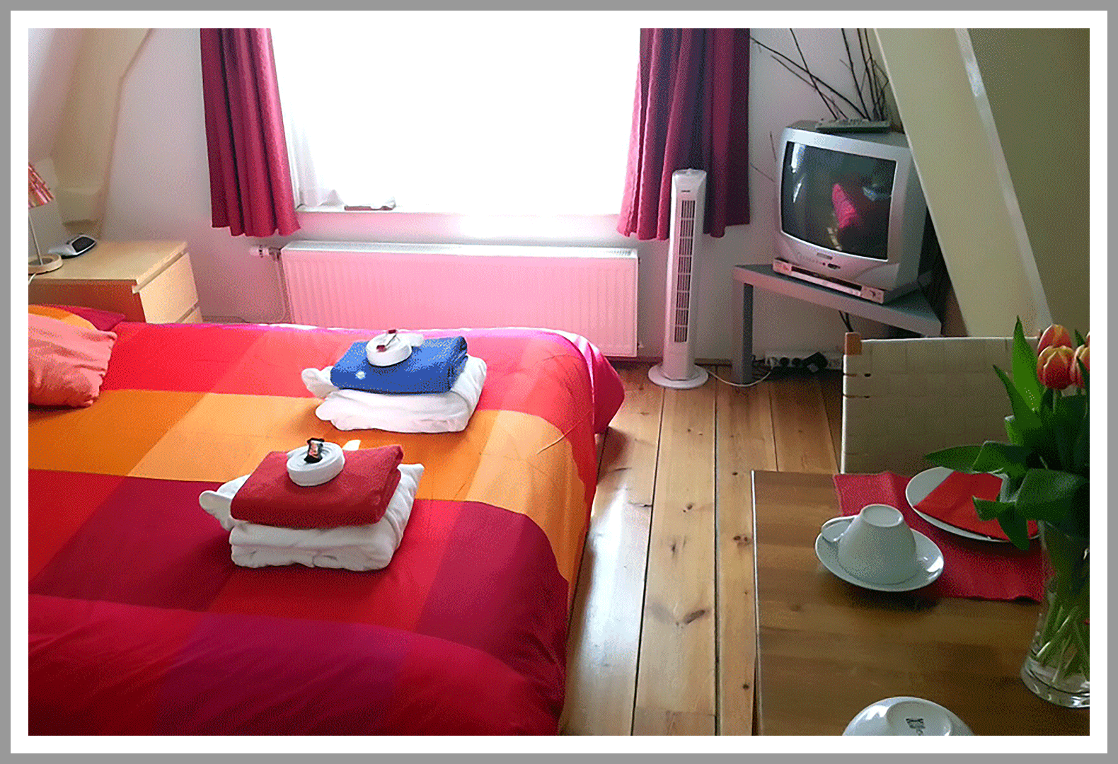 Double room at Amsterdam Bed and Breakfast CityCenter