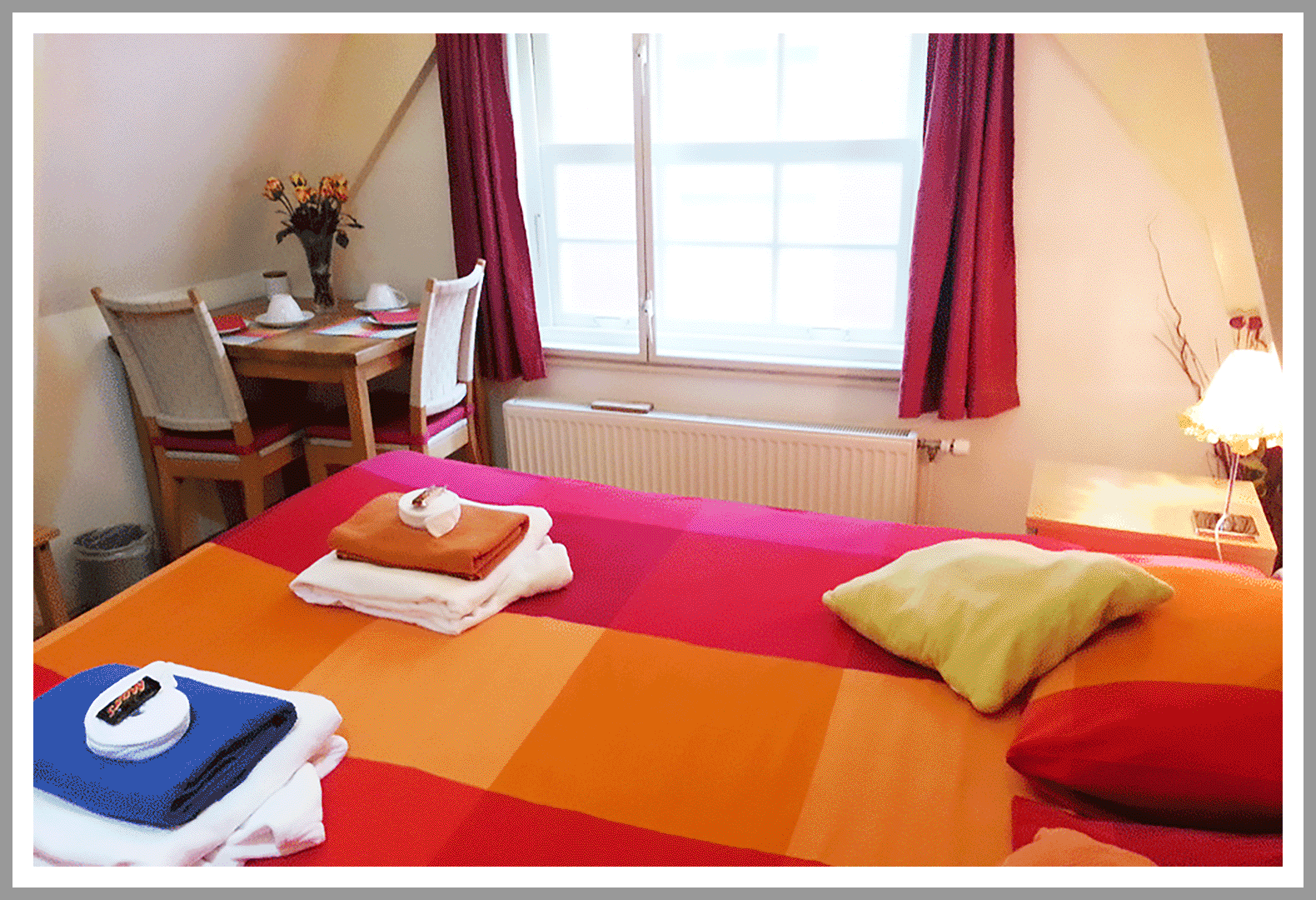 Double room at Amsterdam  CityCenter Bed & Breakfast