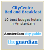 The Guardian award best budget hotel in Amsterdam